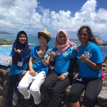 Friendships formed at Makapu'u
