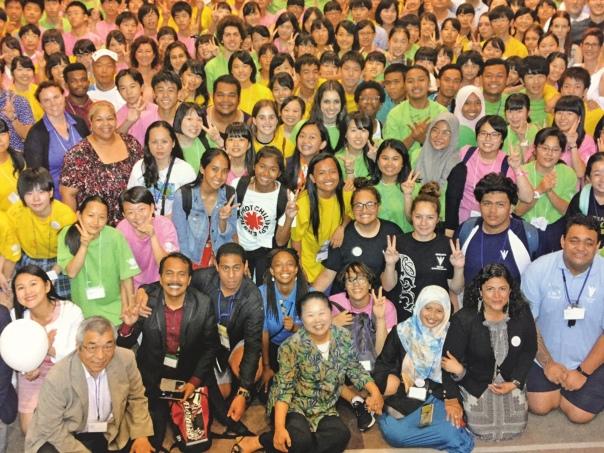 P4Y Vision 2030 - Hiroshima + Innovative Schools Network teams in Tokyo